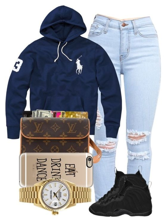"""""""Haven't been on in a long time"""" by diggysimmion ❤ liked on Polyvore featuring beauty, Polo Ralph Lauren, NIKE, Casetify and Rolex"""