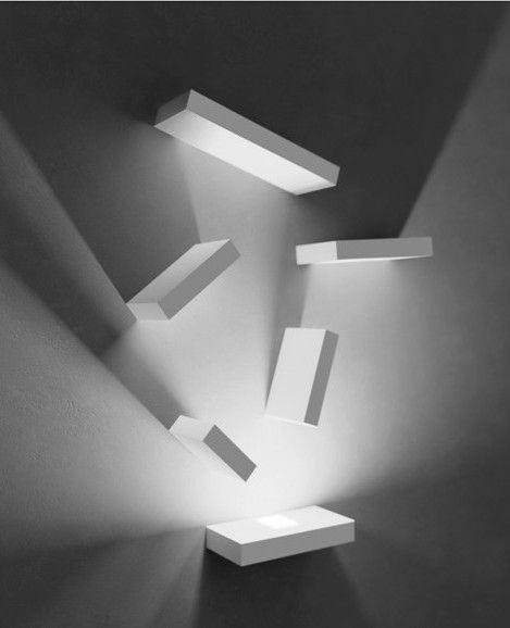 SET Wall light by Vibia   #design Josep Lluís Xuclà @moxiethrift on etsy Brochu