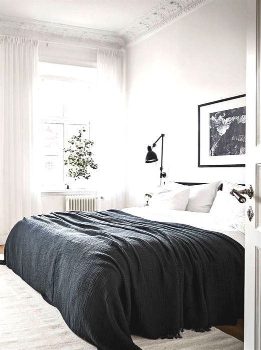 Awesome Minimalist Bedroom Design Ideas For Modern Home Decor On A Budget Pinterest Bedroom Scandinavian Design Bedroom Bedroom Design Trends Bedroom Trends