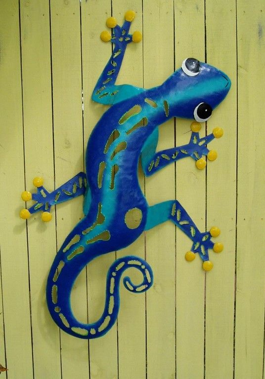 46in Hand Crafted metal Shark wall art | Tropical Wall Decor ...