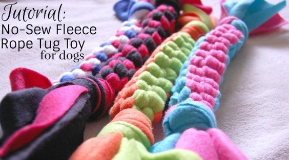 no sew fleece gifts and dog toys on pinterest Dog Body Language Diagrams