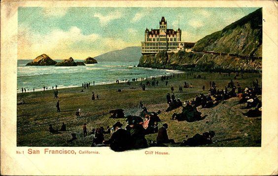 SAN FRANCISCO CA, Cliff House, Weidner, Unused c1910 Vintage Postcard