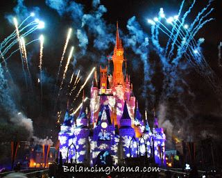 Mickey's Very Merry Christmas Party: how we packed it all into a magical 6 hours -- tips and info on the beautiful and fun party at The Magic Kingdom! #Disney #MagicKingdom #Christmas