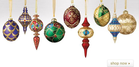Royal Treasures Ornament Collection #Christmas
