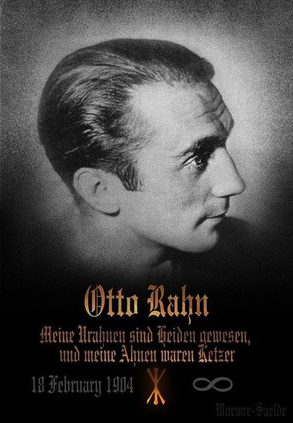 Otto Rahn: author, poet, Grail seeker.: