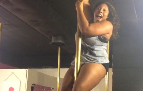 �I Weigh 220 Pounds and I Never Liked Working Out�Until I Tried Pole Dancing' http://www.womenshealthmag.com/fitness/plus-sized-pole-dancing/slide/3