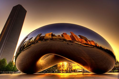 bean, chicago