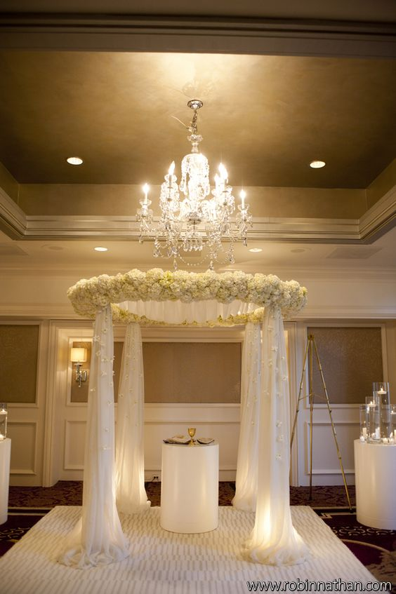 3 Home Decor Trends For Spring Brittany Stager: Floral & Decor: Bold American Events Wedding Chuppah