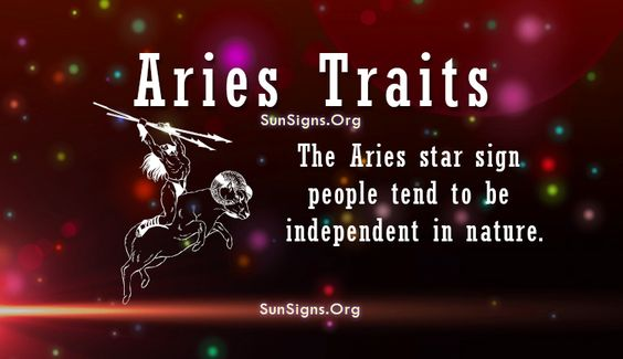 Aries Positive Personality Traits