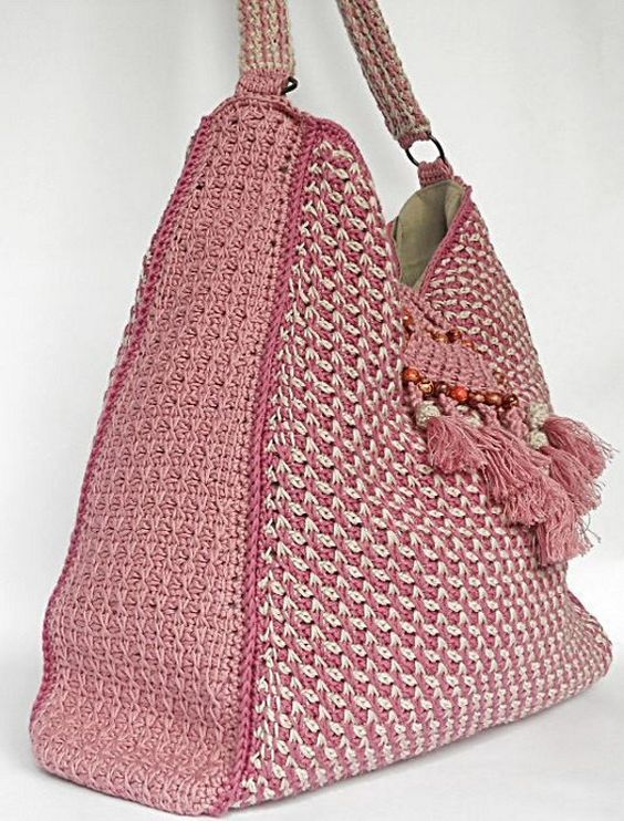 Tunisian Crochet Patterns Bags : ... crochet and more crochet bags patterns tunisian crochet crochet bags