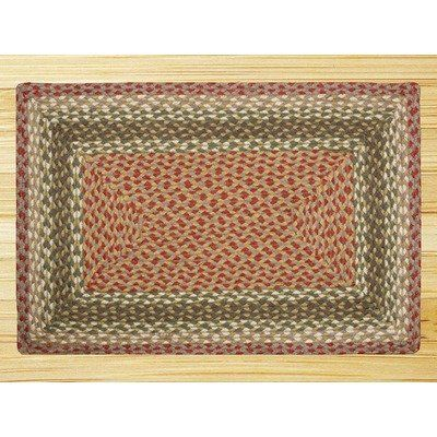 EarthRugs C-24 Olive/Burgundy Rug Rug Size: Runner 2' x 6' by Earth Rugs. $71.53. 33-024 Rug Size: Runner 2' x 6' Features: -Technique: Braided.-Material: Jute.-Origin: Bangladesh. Construction: -Construction: Handmade. Color/Finish: -Color: Olive, Burgundy, Gray. Dimensions: -Pile height: 0.2''.