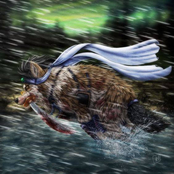 Run, Wolf! by SheltieWolf.deviantart.com on @deviantART