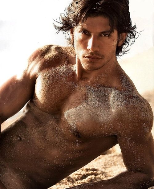 sand. sand EVERYWHERE...  Thiago Barcelos  Could be good for either Hector Chavez or Vance Crowe from Rock Chick series