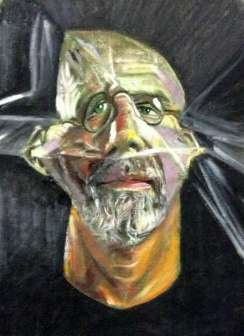 """HBD...Chuck Close /Photographer"" #Creative #Art in #painting @Touchtalent"