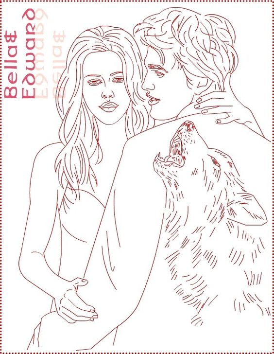 free twilight coloring pages - photo#15