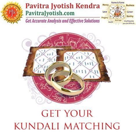#PavitraJyotish #Horoscope Get your kundali matching done before you get married to check the compatibility in your marriage life. http://www.pavitrajyotish.com/detailed-kundali-matching/  #Astrology #Guidance #KundaliMatching  #HoroscopeMatching #VedicAstrology #Predictions