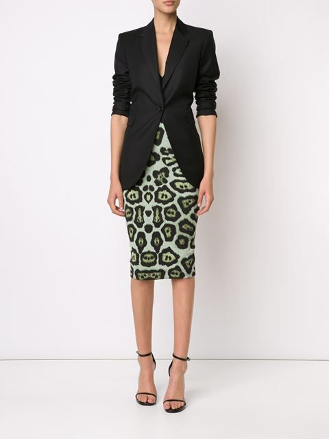 Givenchy Pencil skirt in Leopard Print