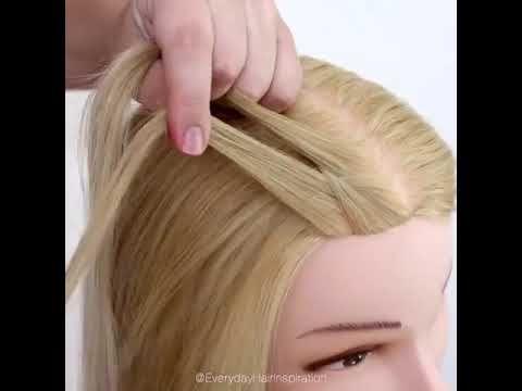 Tasrihat Cha3r Banat Wa Machtat Cha3r Sahla 2019 تسريحات شعر بنات و مشطات سهله Youtube Hair Styles