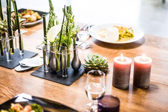 Stilvolle Tischdeko   Gastronomie, Restaurant