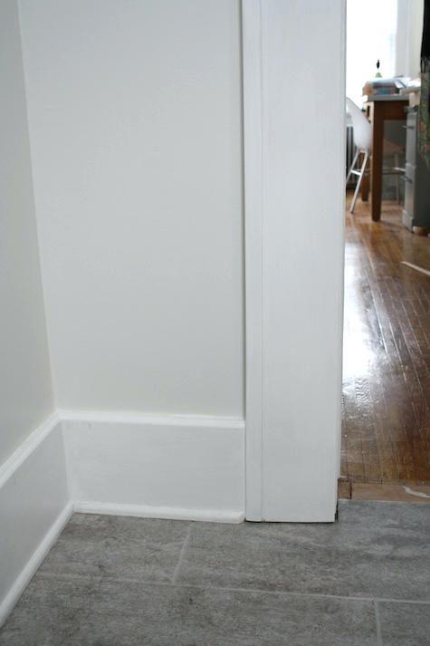 Modern Door Frame Molding Interior Door Trim Options Door Trim Meets Floor Trim Baseboard Moldingmoldingsmodern Moderne Sockelleisten Innentur Bodenverkleidung