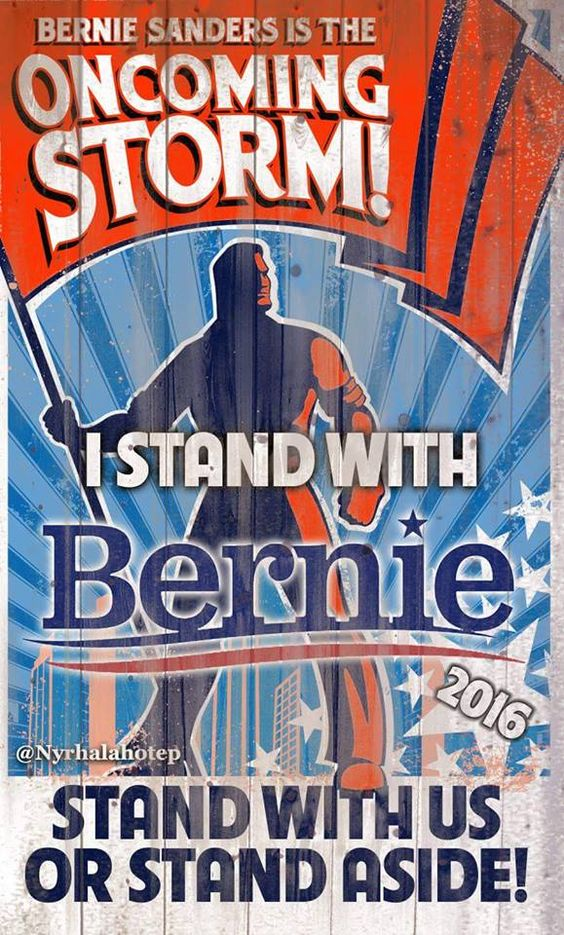 Bernie Sanders comes to Manassas