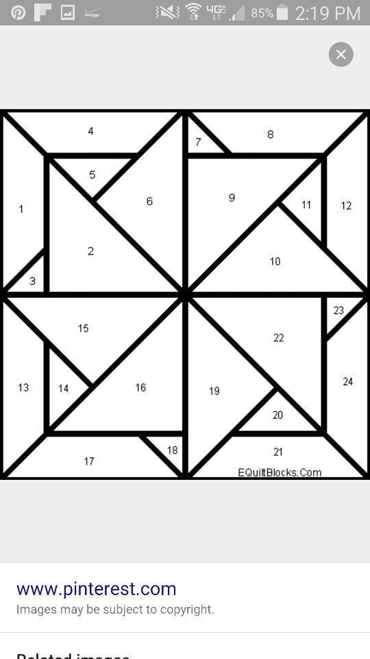 I Want To Make This With The Following Combo White 1 4 8 12 24 21 17 13 Colour A 3 Painted Barn Quilts Quilt Square Patterns Barn Quilt Designs