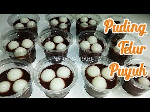Ide Jualan Kreatif Menu Takjil Puding Coklat Telur Puyuh