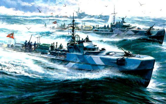 1940 - Schnellboote WW Pictures Pinterest Schnellboot - k chenherd mit wasserschiff