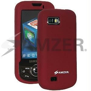 Amzer Silicone Skin Jelly Case - Maroon Red