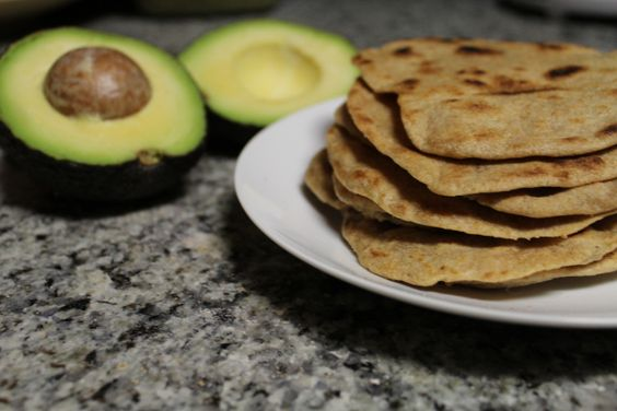 homemade whole-wheat tortillas