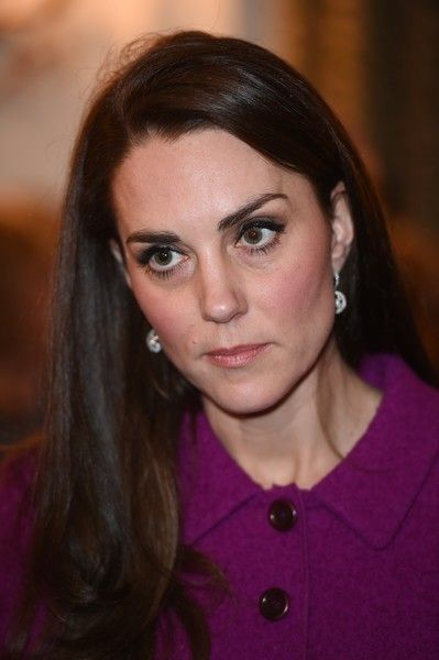 Catherine, Duchess of Cambridge attends Guild of Health Writers Conference with Heads Together at Chandos House on February 6, 2017 in London.