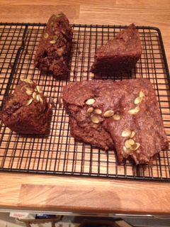 Chocolate Protein Zucchini Bread (or Muffins)
