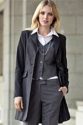 Stylish women's business or formal suit. http://www ...