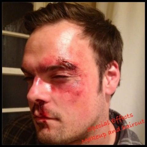 Special effects bruises and cuts makeup   FX   Pinterest ...
