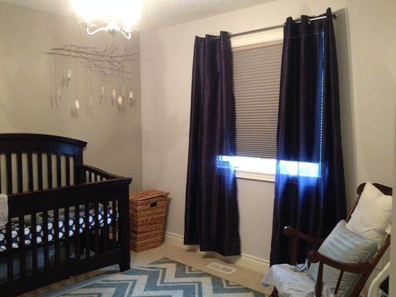 Blackout Shades Baby Room Beauteous Design Decoration