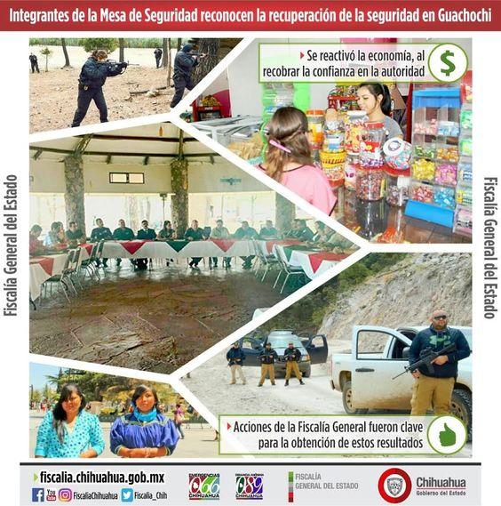 Integrantes de la Mesa de Seguridad reconocen la recuperación de la seguridad en Guachochi | El Puntero