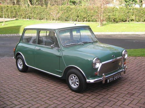 mini cooper mk2 1969 green with envy pinterest mini. Black Bedroom Furniture Sets. Home Design Ideas
