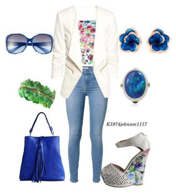 """Garden Party "" by k1974johnson1117 ❤ liked on Polyvore"