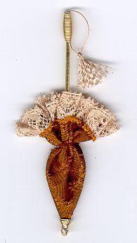 Closed parasol tutorial dollhouse - Recambio tela parasol ...