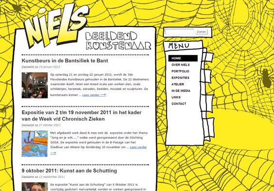 Niels Blenderman is een Almeerse beeldend kunstenaar. Tekenaar en schepper van 3D-werk van karton, papier, stoffen, verpakkingsmateriaal, plakband, nietjes, e.d. Al zijn werken zijn een afspiegeling van zijn autonome belevingswereld.  www.nielsblenderman.nl (2011)