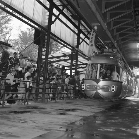 1958年(昭和33年) モノレール 上野動物園 | 昭和時代, 風景, 紀行