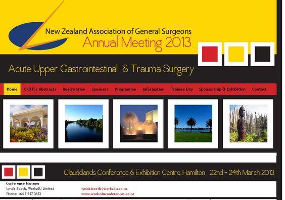 New Zealand Association of General 2013 (NZAGS 2013) | MediSitu.Com