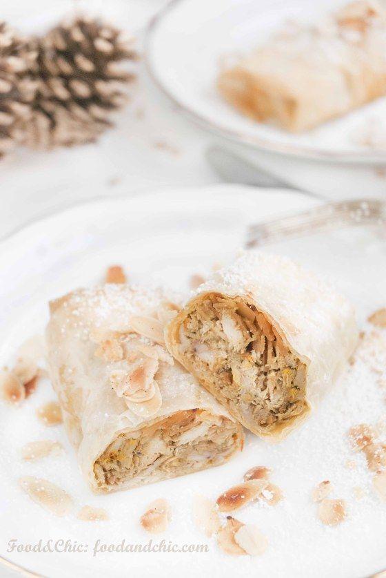 Pastela de codornies y foie