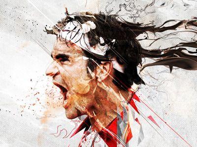 My hero<3 Roger Federer
