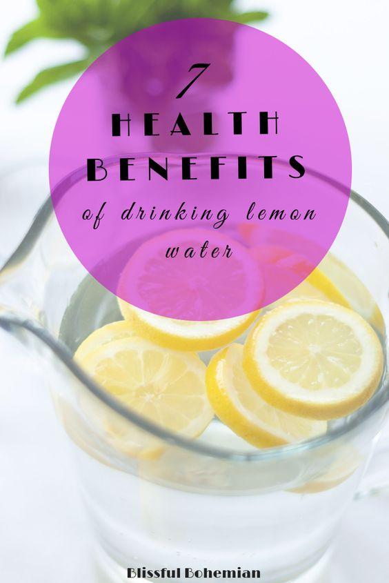 Lemon water benefits 40092
