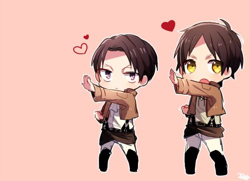 Group of: How can you not find this cute?? *^* | We Heart ...Attack On Titan Levi Chibi Cute