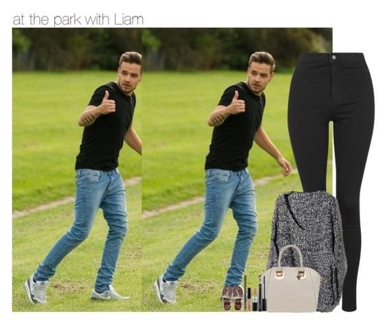 """""""at the park with Liam"""" by sexyirishman ❤ liked on Polyvore featuring Payne, Topshop, MAC Cosmetics, Aéropostale, women's clothing, women, female, woman, misses and juniors"""