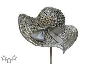 Sombreros con anillas de latas - Javies.com