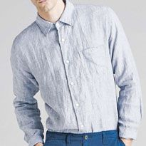 Linen long sleeve shirt £29.90, Trousers £14.90 Image by shoplondon.standard.co.uk/