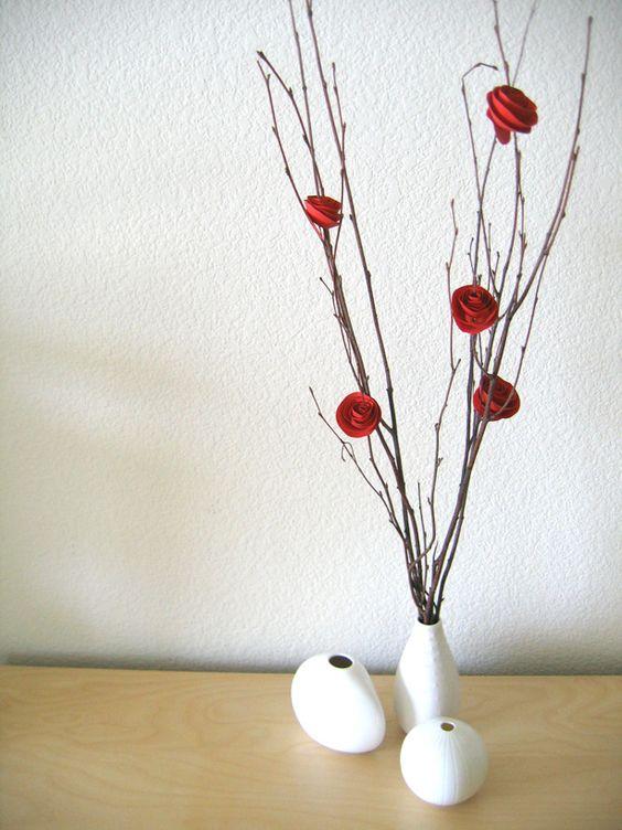 flor de papel passo 6
